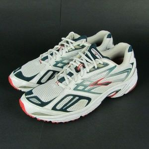 BROOKS Glycerin 4 White Running Athletic Shoes 14